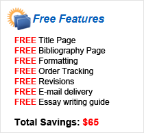 Custom Essays Free Features